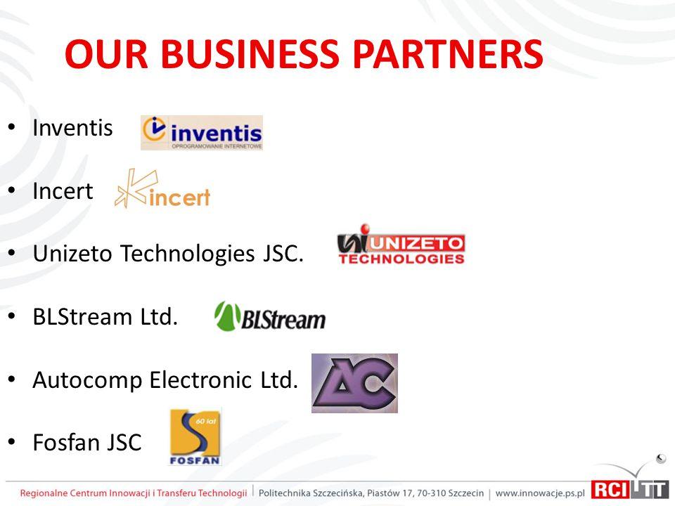 OUR BUSINESS PARTNERS Inventis Incert Unizeto Technologies JSC.