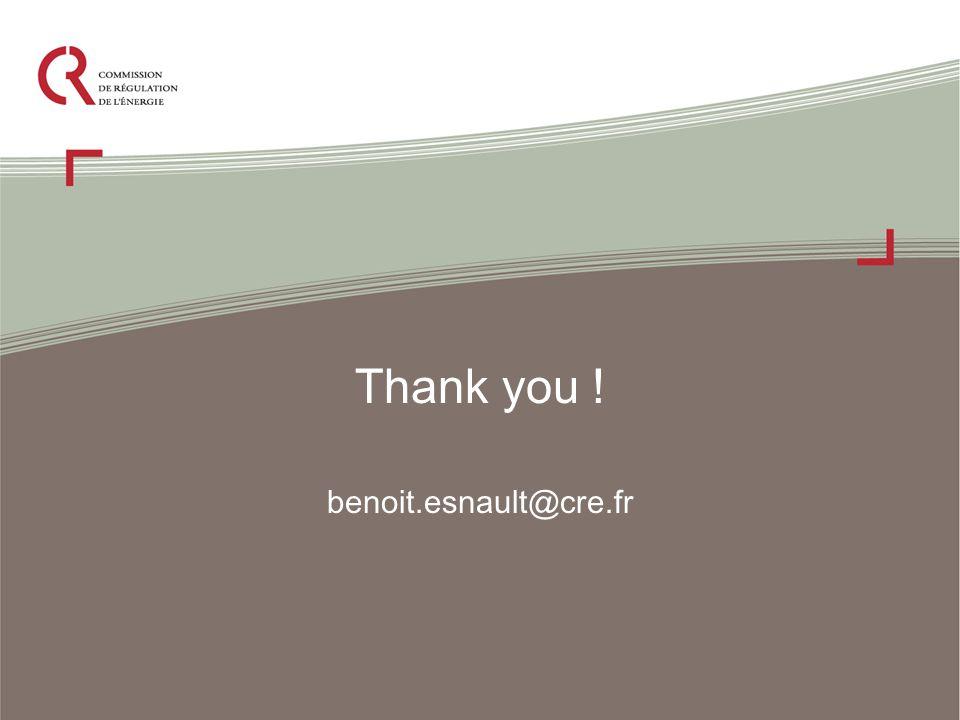 Thank you ! benoit.esnault@cre.fr