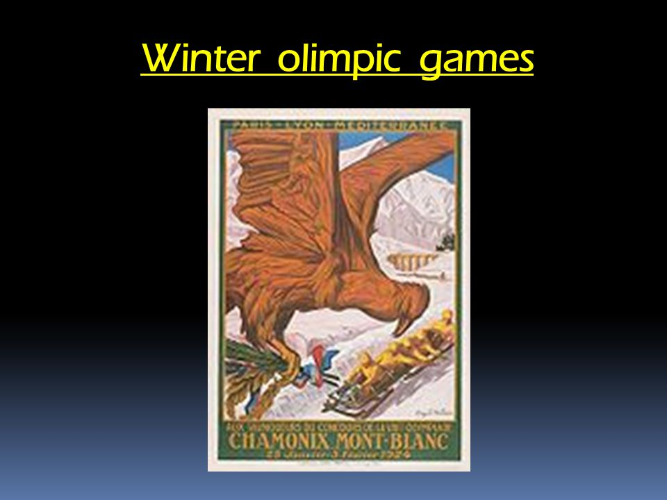 Winter olimpic games