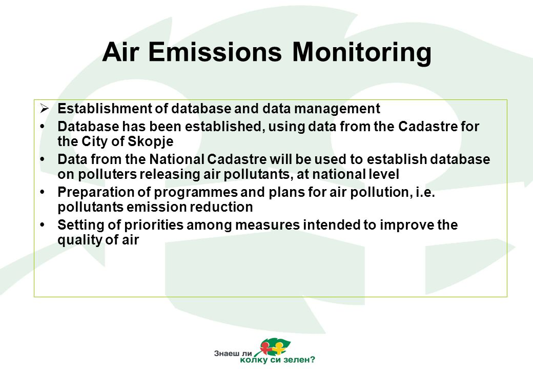 CORINAR Programme Development  Introduction of CORINAIR (CORe INventory of AIR emissions).