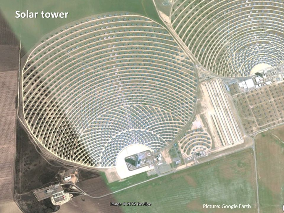 11 Frank Schüssler, Oldenburg, frank.schuessler@jade-hs.de Picture: Google Earth Solar tower