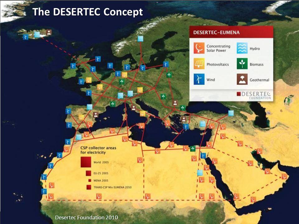 15 Frank Schüssler, Oldenburg, frank.schuessler@jade-hs.de Desertec Foundation 2010 The DESERTEC Concept