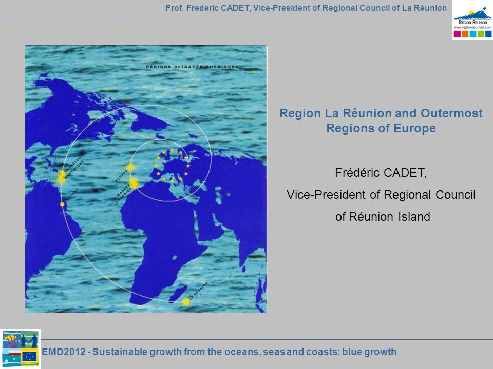 EMD2012 - Sustainable growth from the oceans, seas and coasts: blue growth Prof.