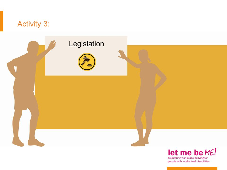 Activity 3: Legislation
