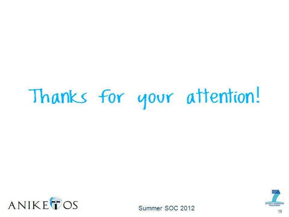 Summer SOC 2012 18
