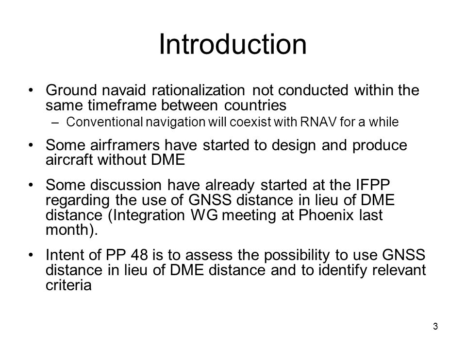 14 Conclusion 1/ Criteria have been proposed to authorise the use of GNSS distance instead of DME distance for Enroute and Terminal operation  Issuance of an EASA operational guidance addressing this use is strongly recommended and consideration of MEL DME item alleviation within this context.
