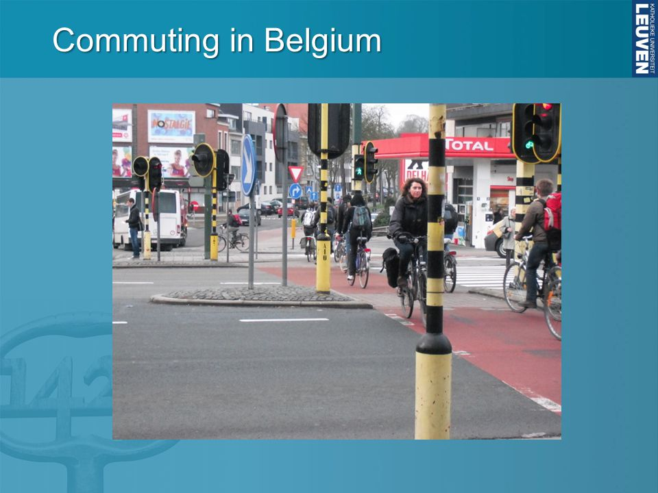 Commuting in Belgium
