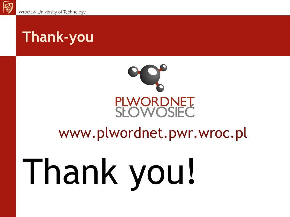 Thank-you www.plwordnet.pwr.wroc.pl Thank you!