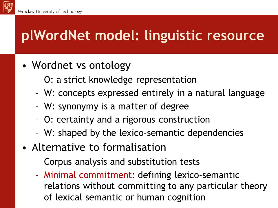# entries Polish dictionaries100-280k plWordNet corpus (10+ lemmas) [K]174k doubled plWordNet corpus (0+ lemmas) [GT]+200k How many words are there.