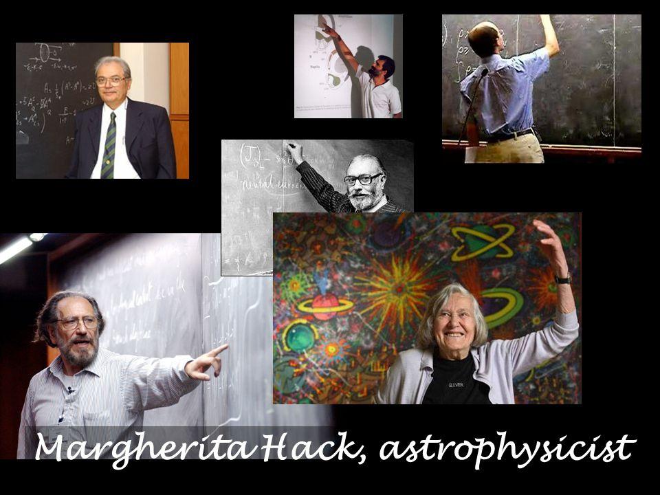 Margherita Hack, astrophysicist