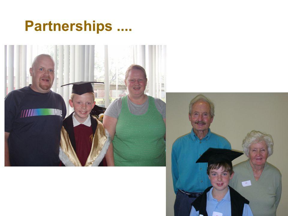 Partnerships...