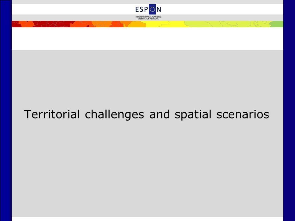 Territorial challenges and spatial scenarios