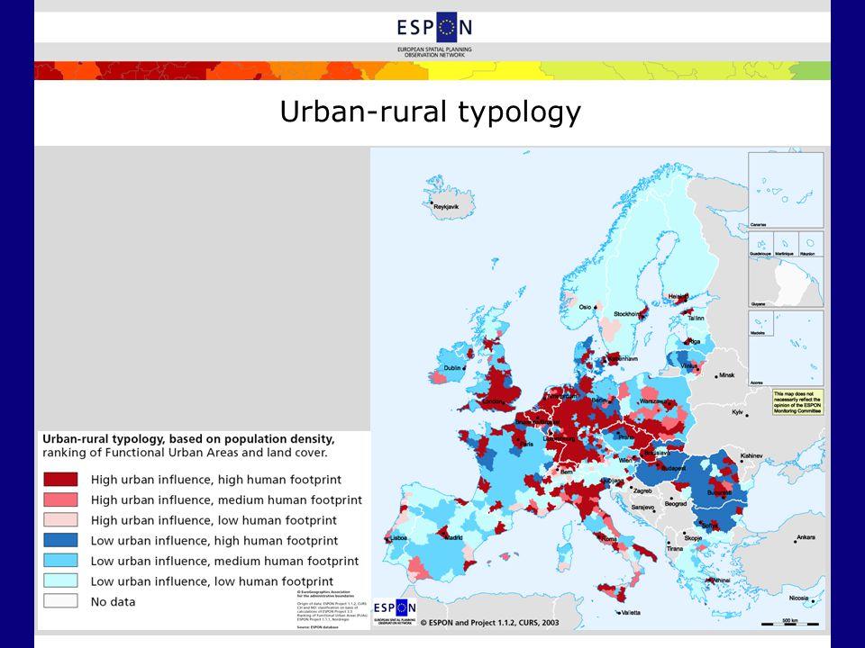 Urban-rural typology