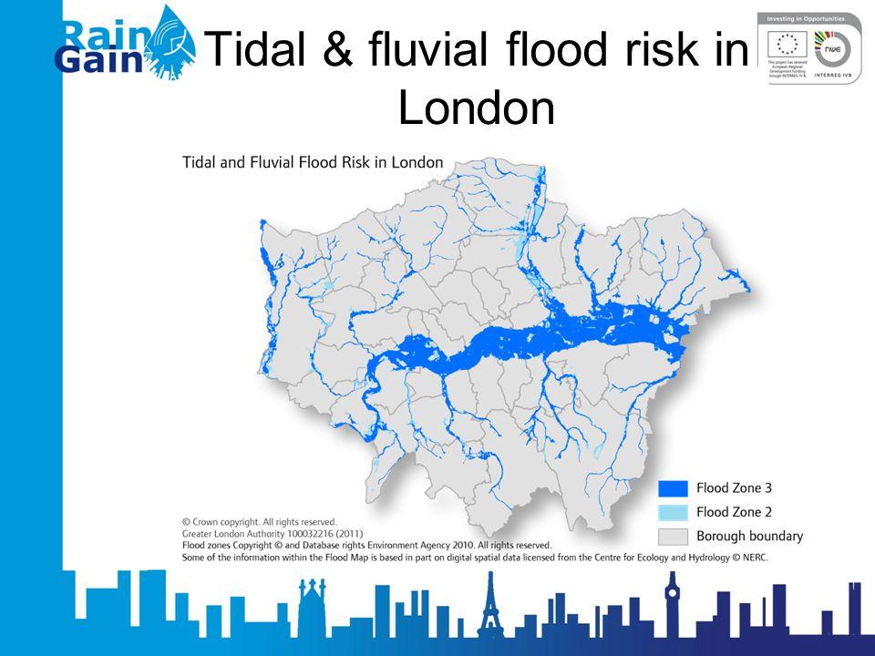 Tidal & fluvial flood risk in London