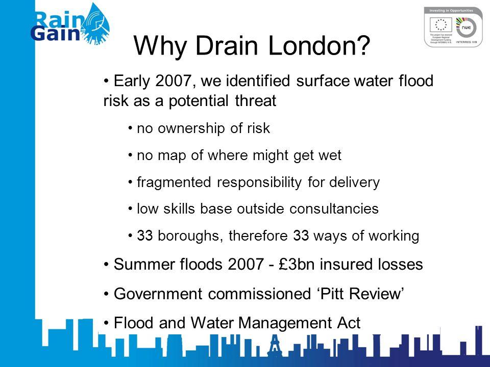 Why Drain London.