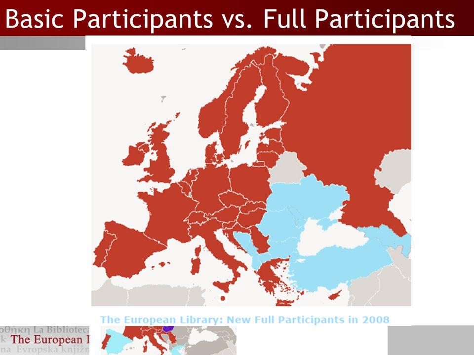 Basic Participants vs.