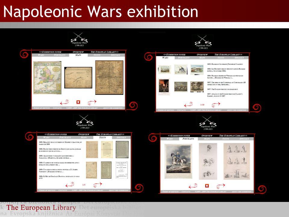 Napoleonic Wars exhibition