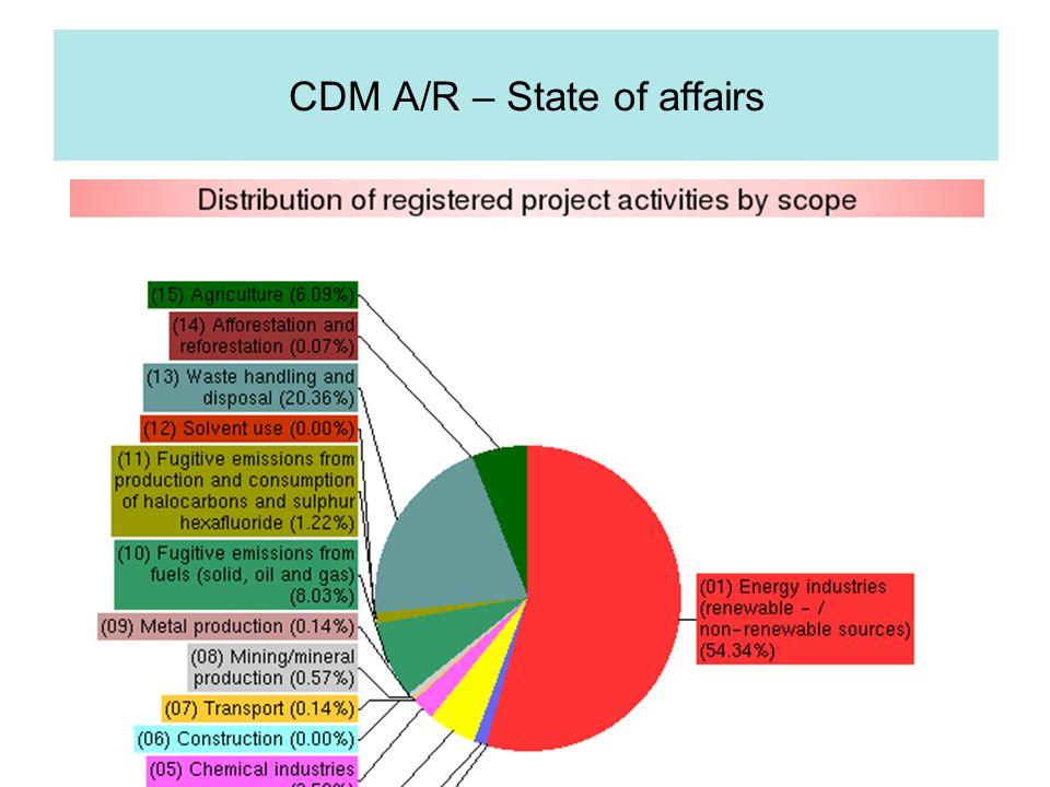 EMMER INTERNATIONAAL CDM A/R – State of affairs