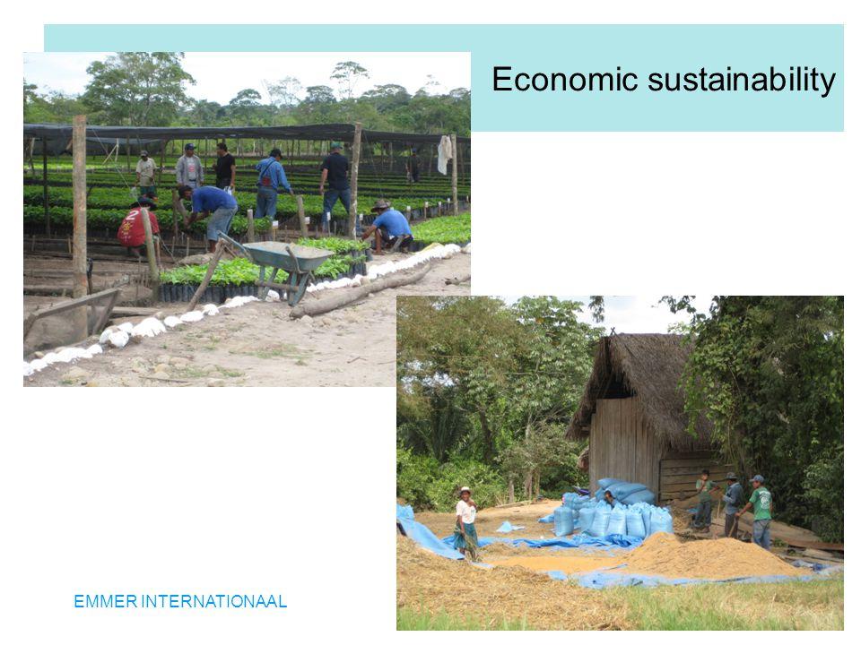 EMMER INTERNATIONAAL Economic sustainability