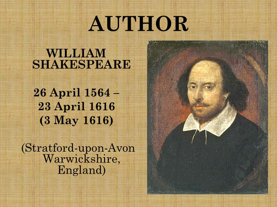 SHAKESPEARE'S LIFE Son of John Shakespeare and Mary Aden.