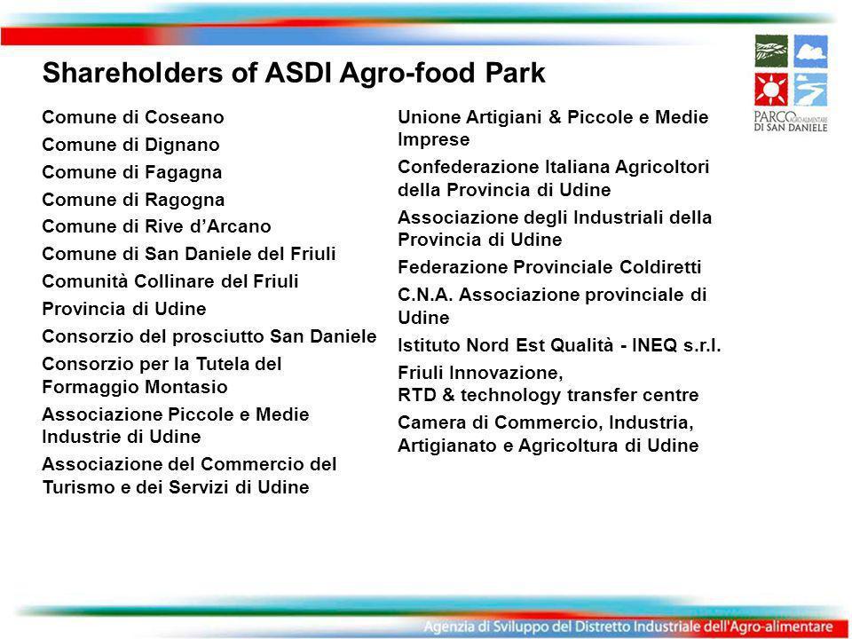 Unione Artigiani & Piccole e Medie Imprese Confederazione Italiana Agricoltori della Provincia di Udine Associazione degli Industriali della Provincia di Udine Federazione Provinciale Coldiretti C.N.A.