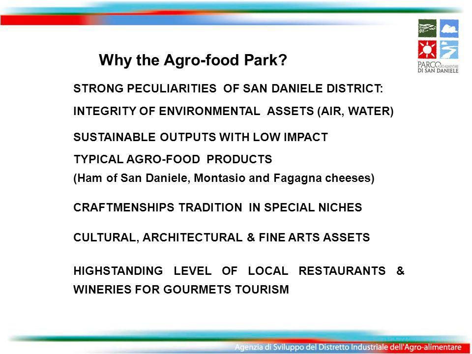 Why the Agro-food Park.