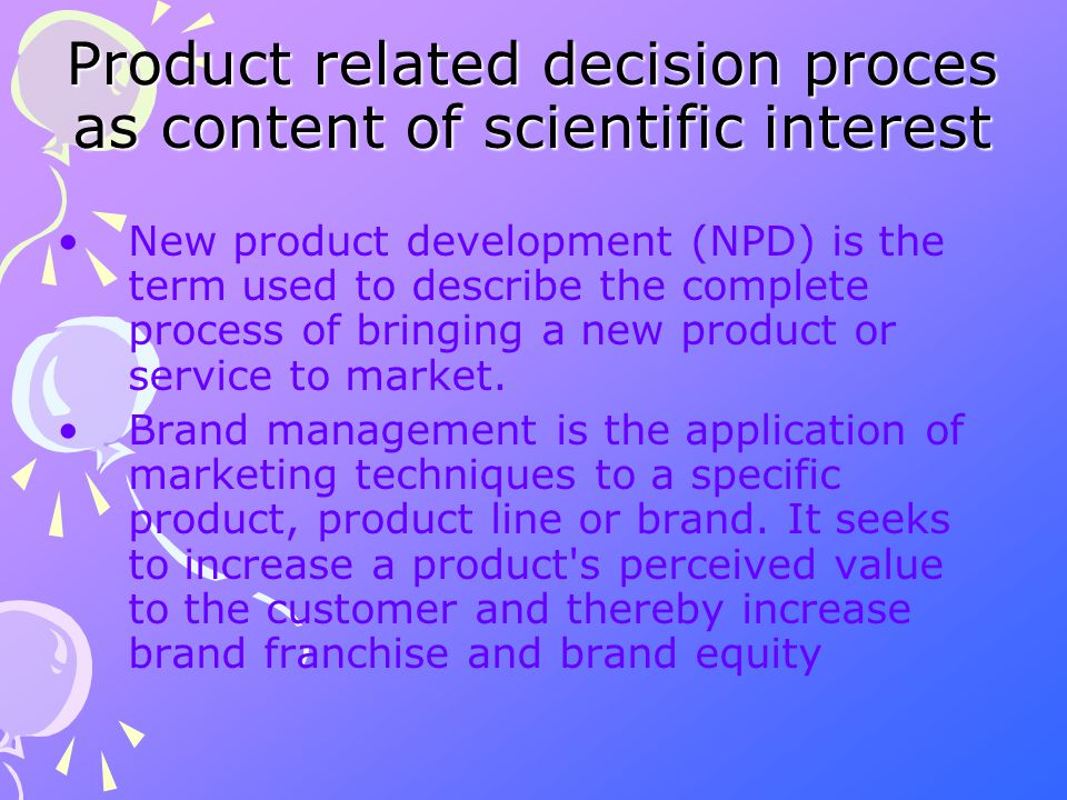 According to the existing literature, product/brand management is a system developed in 1927 by P&G, or maybe earlier.