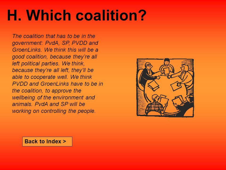 Back to Index > H. Which coalition.