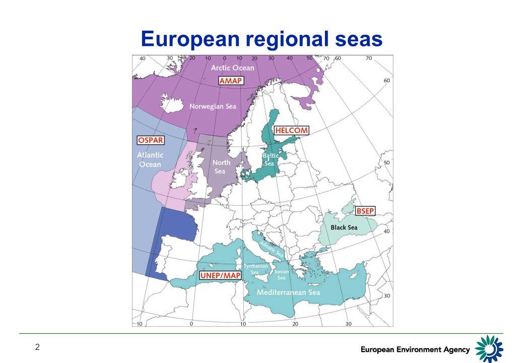 2 European regional seas