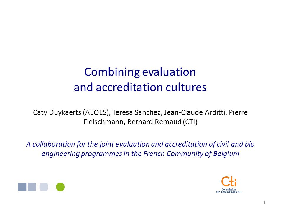 22 Conclusion up to now Institutional background Origin and scope of the collaboration Phases of the collaboration Development and main outomes of the preparatory phase Conclusions and questions for the audience Cultural differences The French-speaking Belgians are soft speaking and they dislike disputes The French like controversy and are more direct Some deans felt uncomfortable during interviews