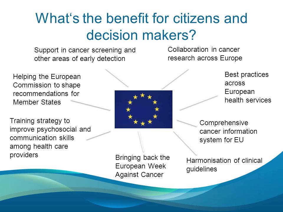 What's the benefit for citizens and decision makers.