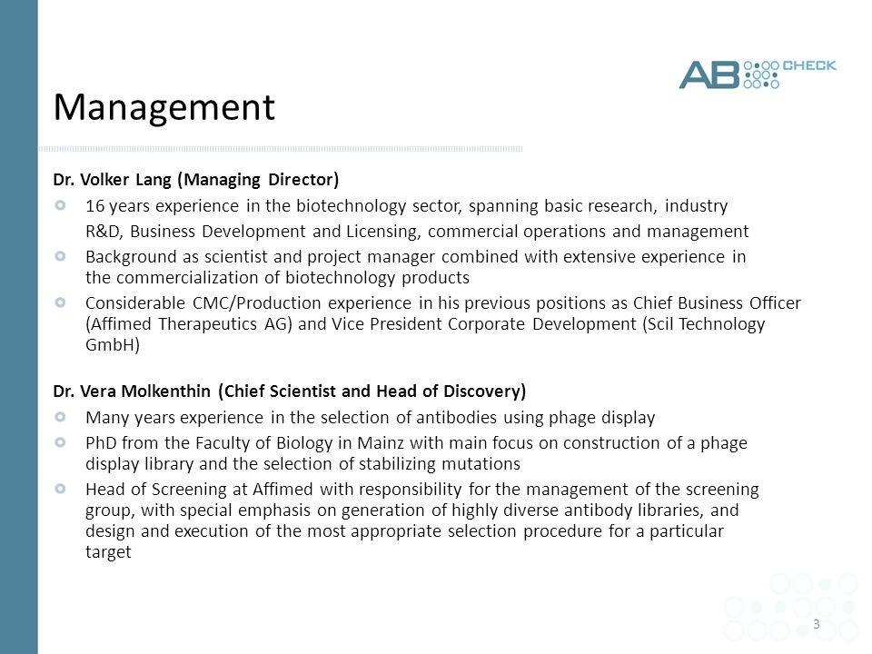 3 Management Dr.