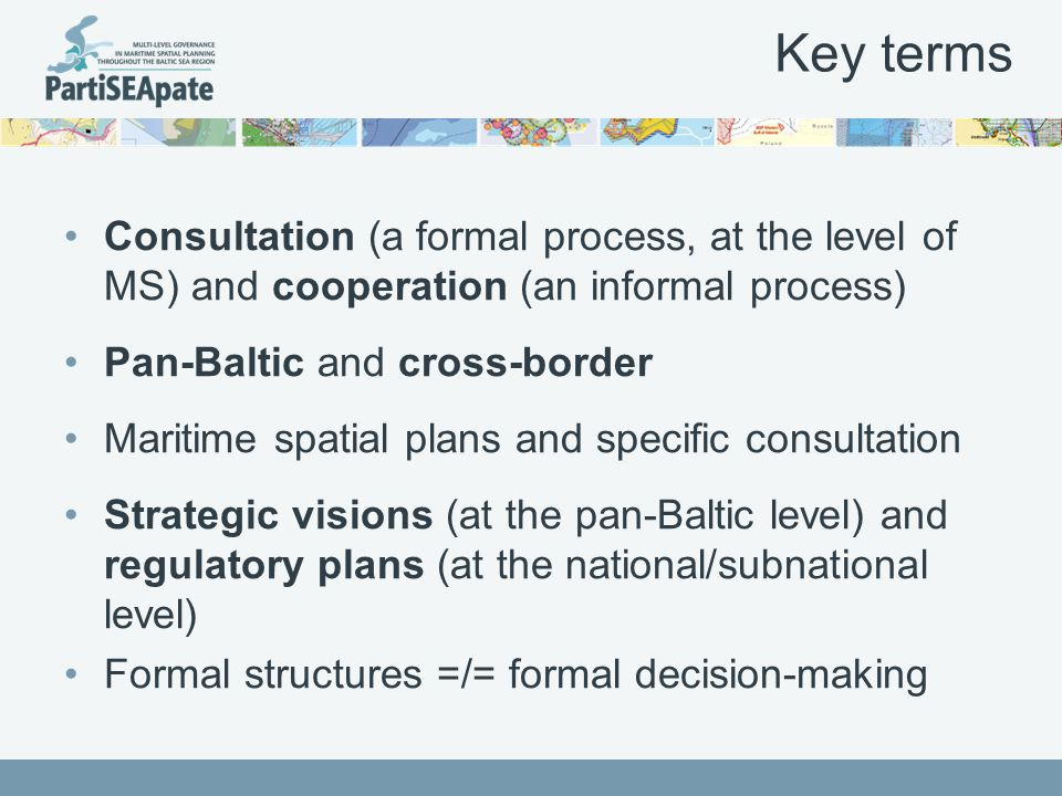 Consensus that coordination will be necessary A permanent point of contact with dedicated staff Facilitator role AND decision-making role/delivery of results Consensus that HELCOM is not suitable Insufficient visibility of VASAB An independent body Spatial planners should coordinate