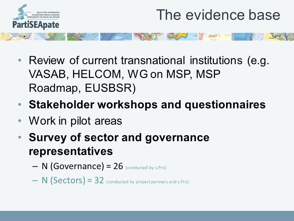 The MSP governance framework at the pan- Baltic level BSR (HELCOM-VASAB) MSP W ORKING G ROUP WHO .
