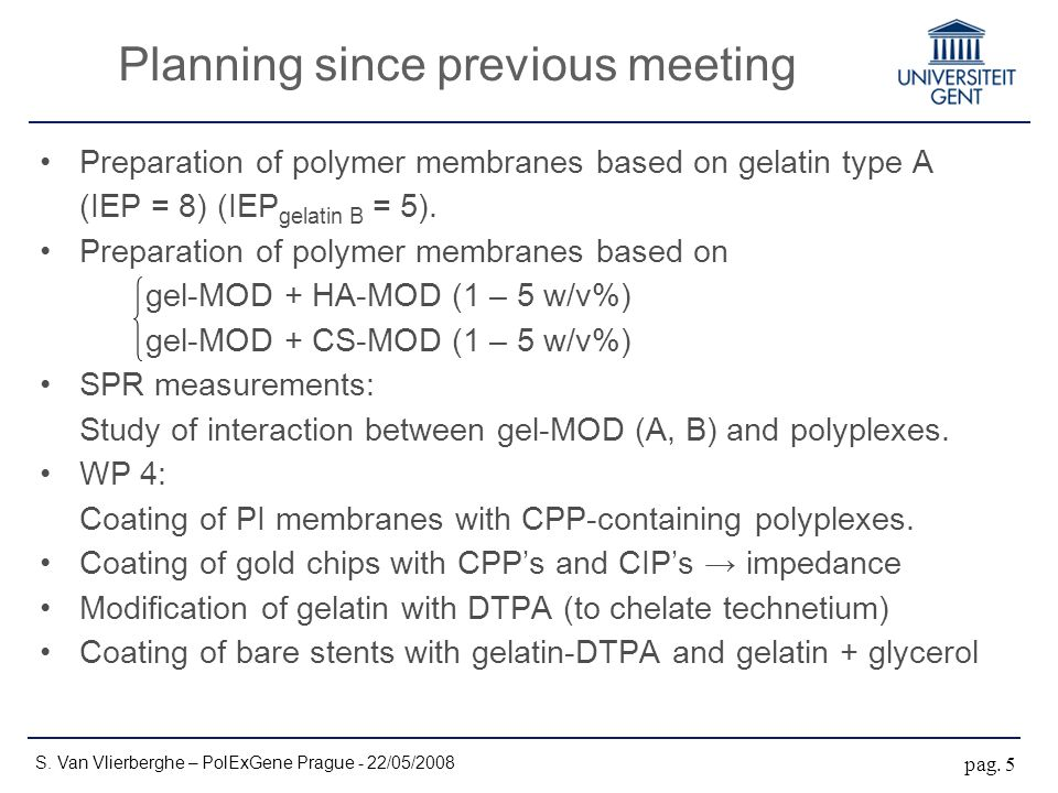 Preparation of polymer membranes based on gelatin type A (IEP = 8) (IEP gelatin B = 5). Preparation of polymer membranes based on gel-MOD + HA-MOD (1