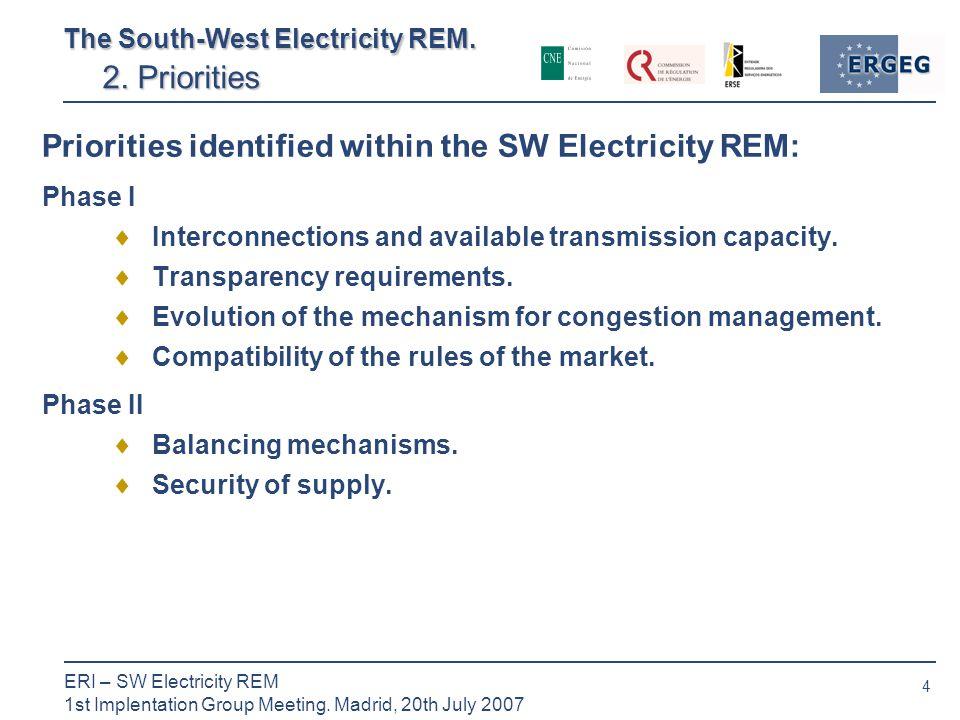 4 ERI – SW Electricity REM 1st Implentation Group Meeting.