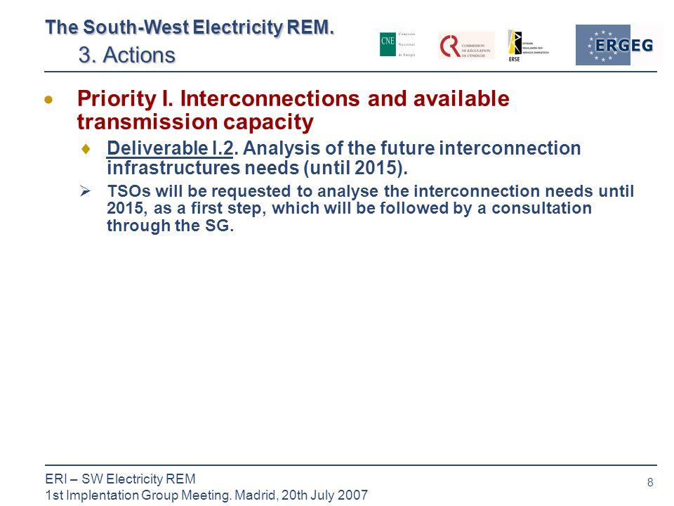 8 ERI – SW Electricity REM 1st Implentation Group Meeting.