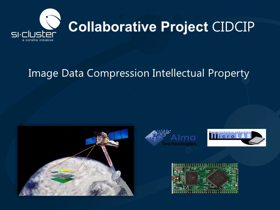 Collaborative Project CIDCIP Image Data Compression Intellectual Property