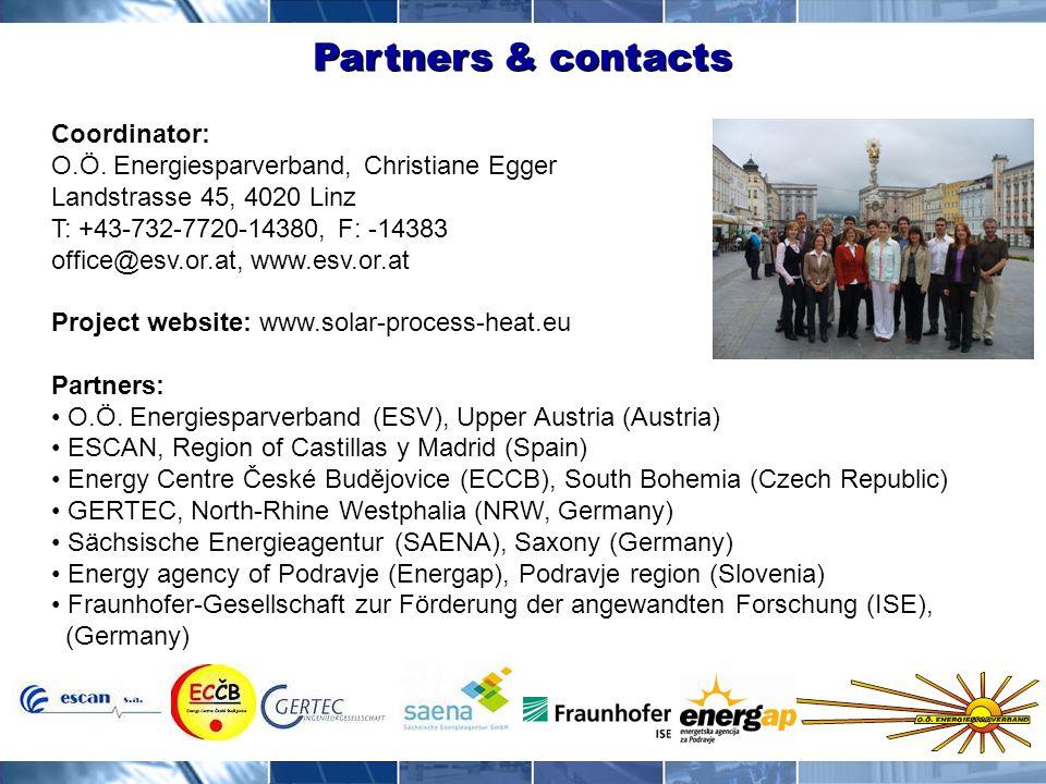 Partners & contacts Coordinator: O.Ö.