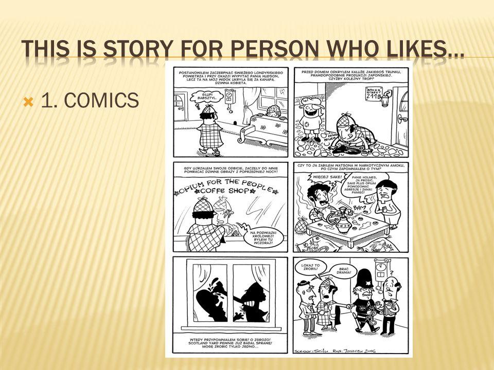  1. COMICS