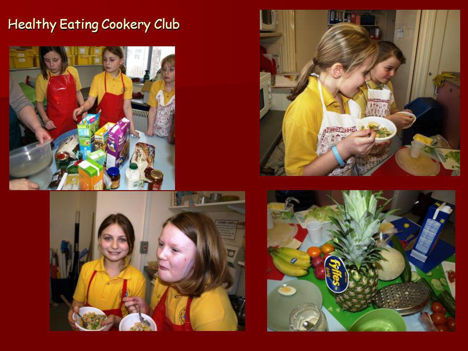 Healthy Eating Cookery Club