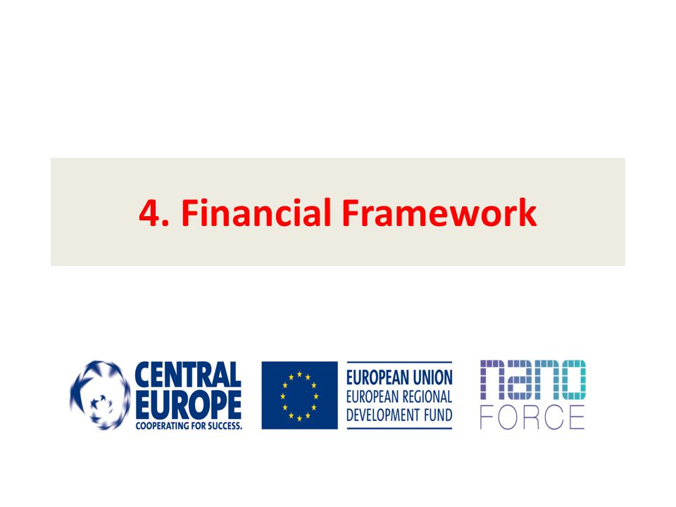 4. Financial Framework