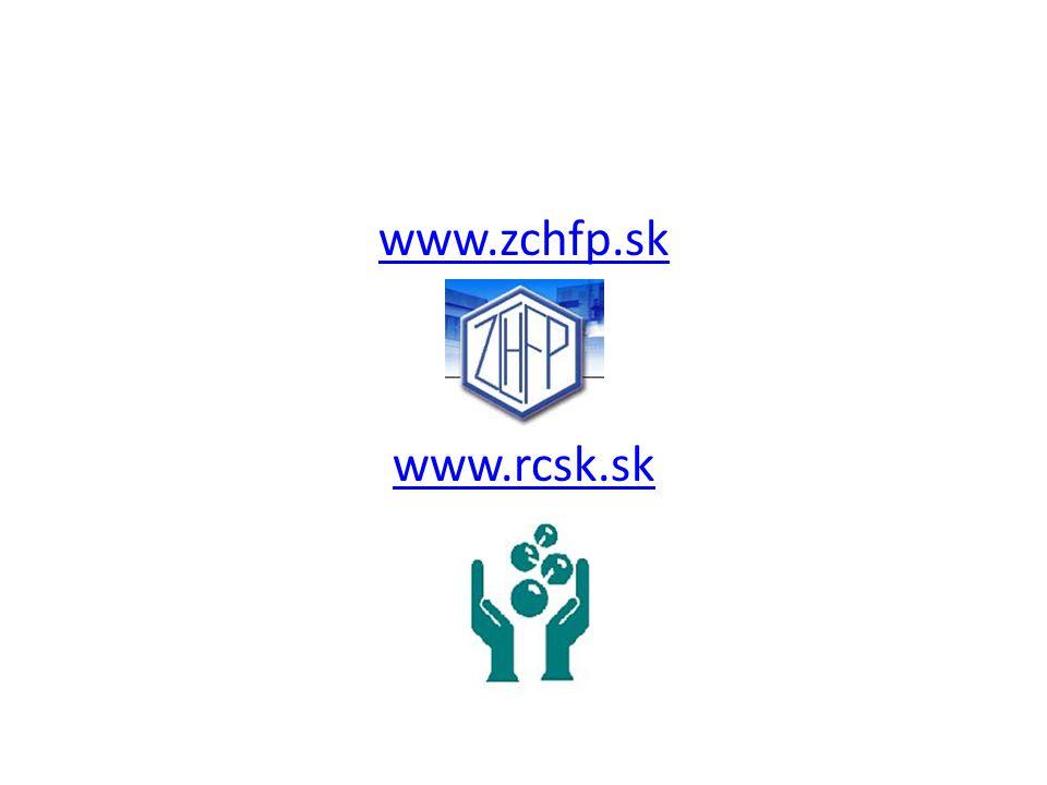 www.zchfp.sk www.rcsk.sk