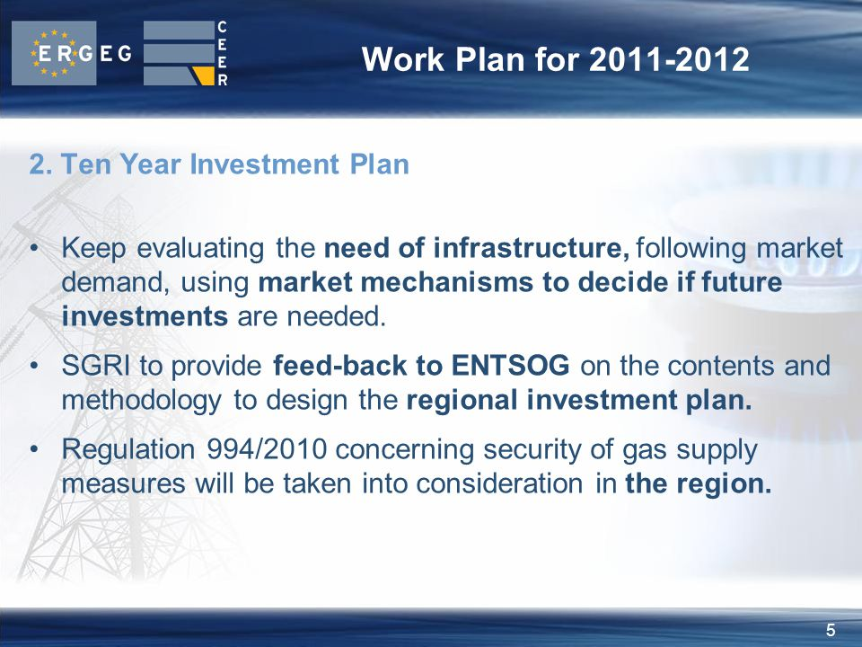 6 Work Plan for 2011-2012 3.