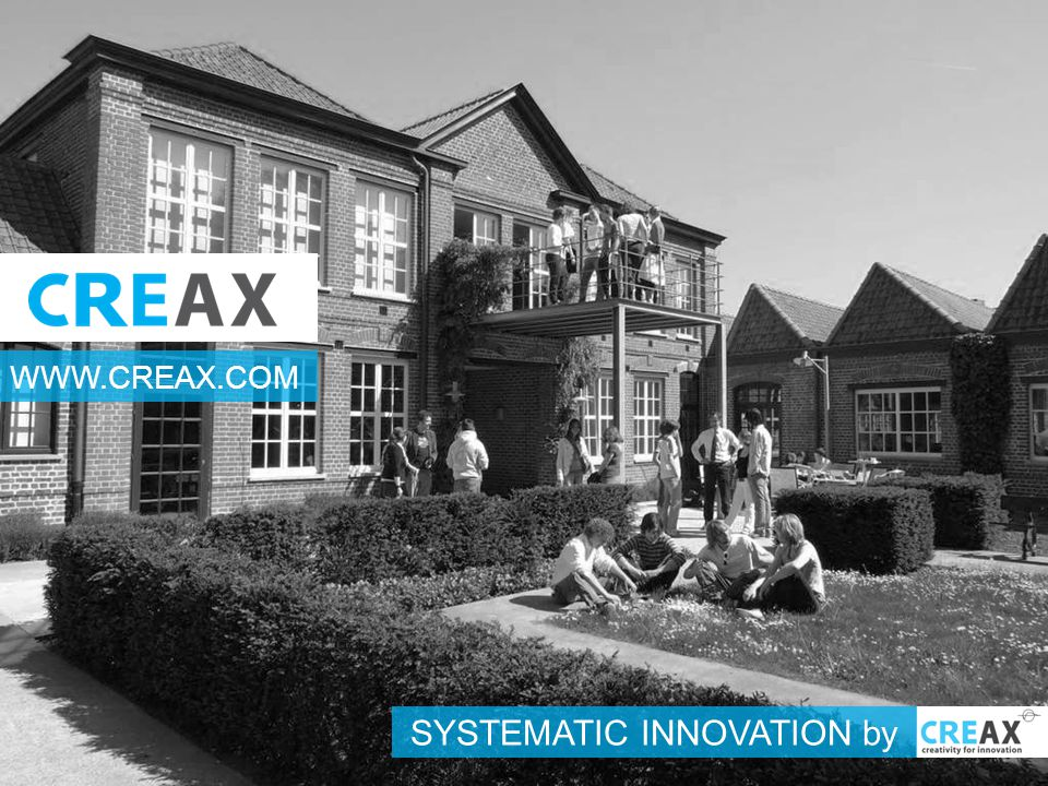 SYSTEMATIC INNOVATION by WWW.CREAX.COM