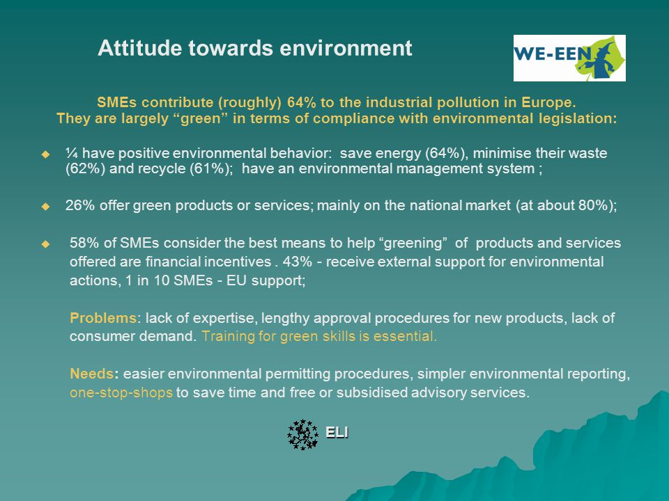 Further EU acts for SMEs' support - 2 2.