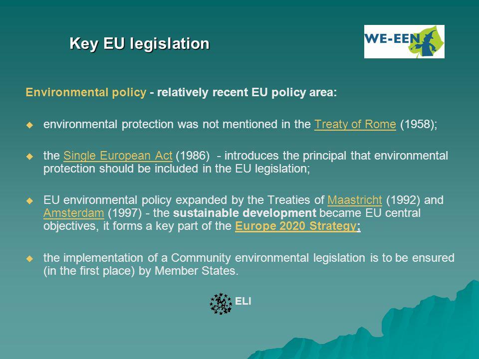 Key EU Funding Sectors: Environment, Energy and Transport 1.