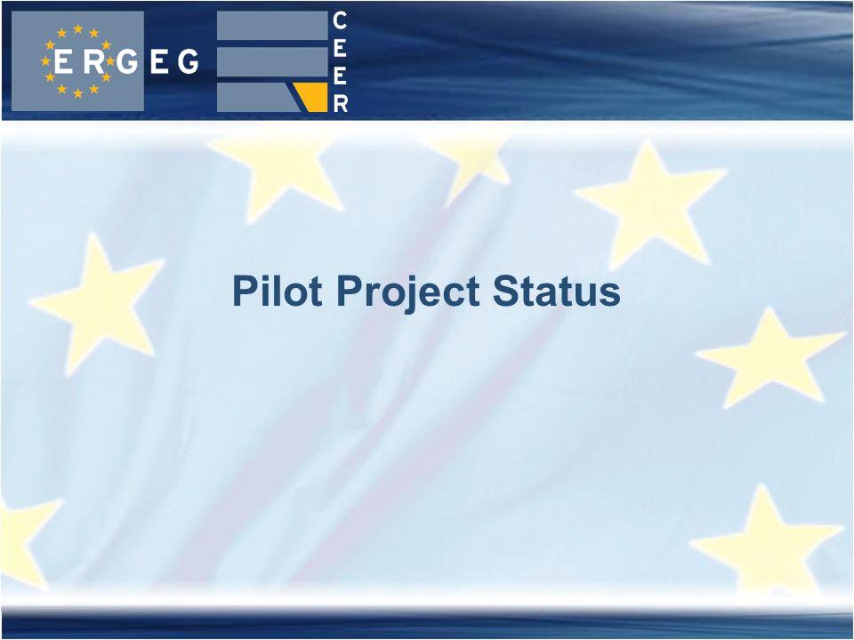Pilot Project Status