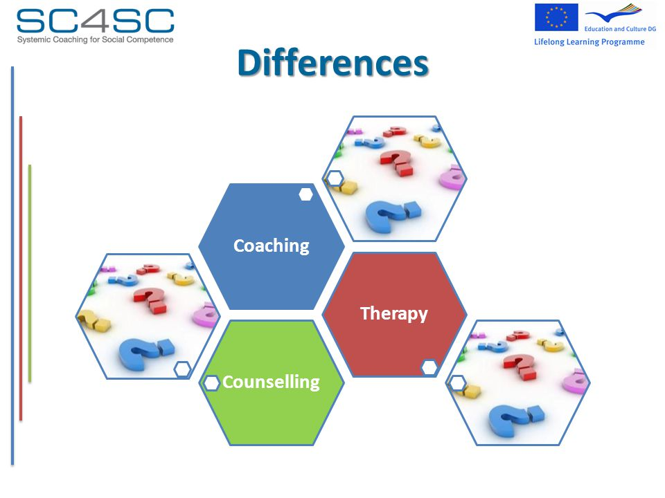 Differences CounsellingTherapyCoaching