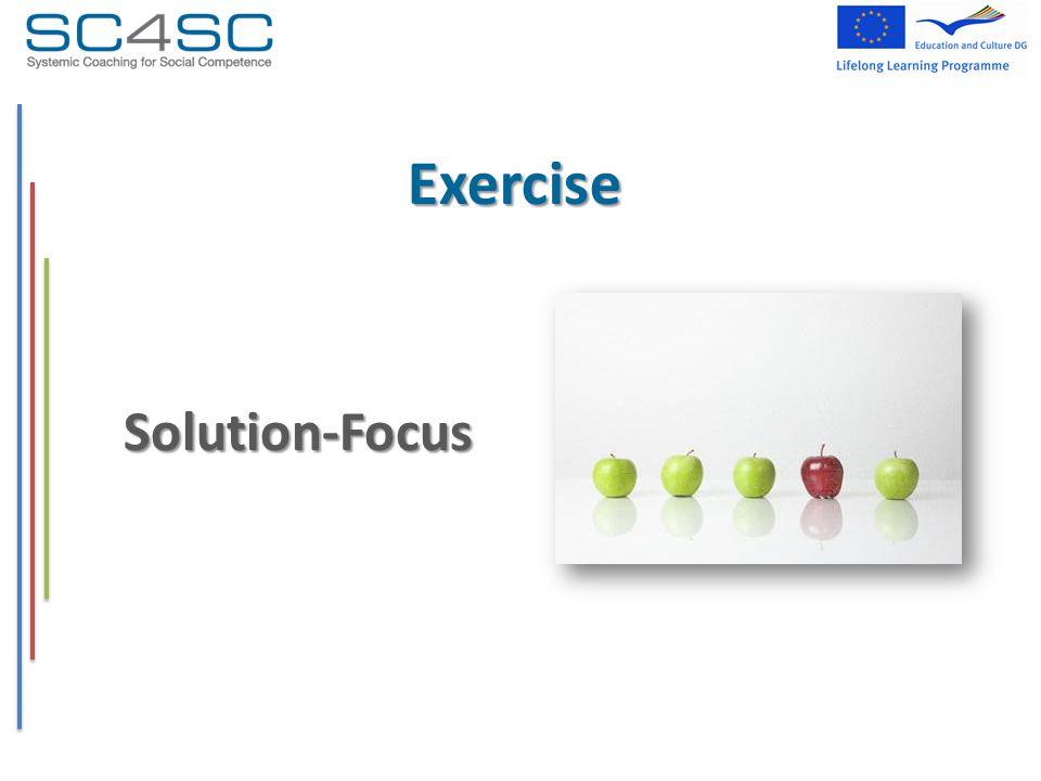 Exercise Solution-Focus